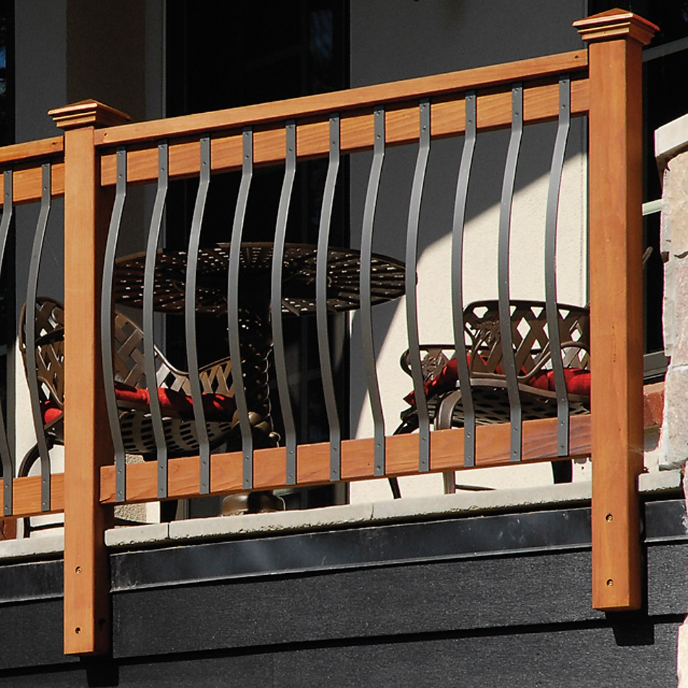 Steel Arch baluster